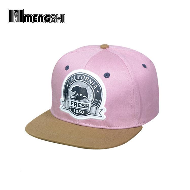 gorras planas rosas para niña 98755970e98