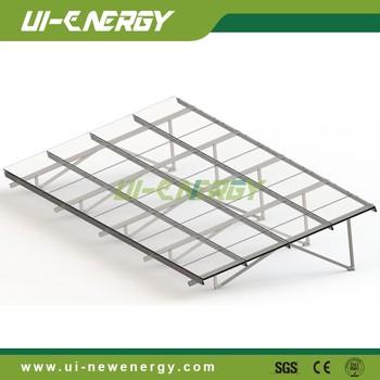 c acier support de panneau solaire panneau solaire. Black Bedroom Furniture Sets. Home Design Ideas