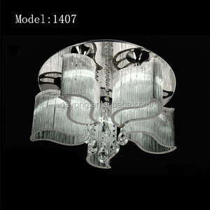 Chinese style Glass Ceiling Lamp with lamp shade made in china Model:1407