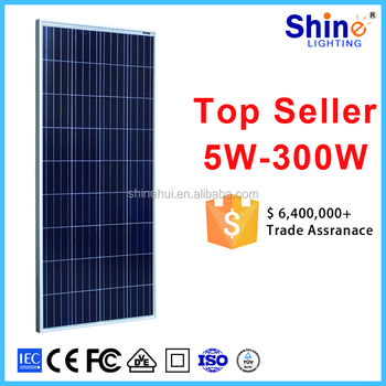 Alibaba Top 1 China Suppliers 12v 150 250w Polycrystalline Solar ...
