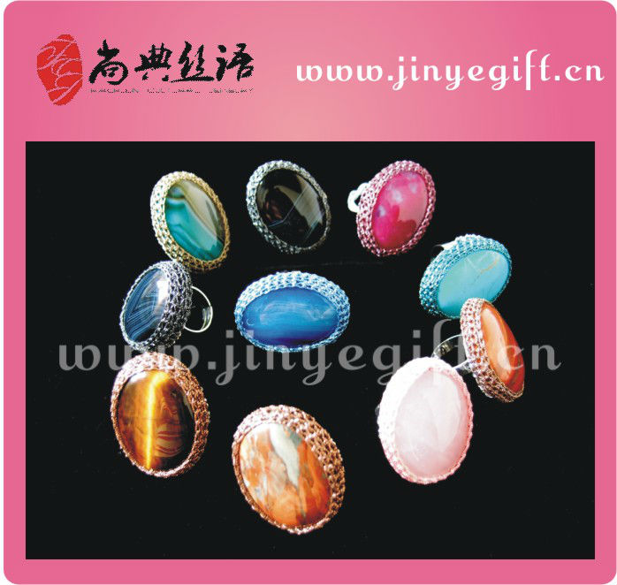 Dubia Area Colored Handcrafed Genuine Opal Rings