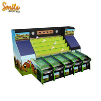 Most Popular Carnival Games Coin Operated Booth Amusement Game 5 Players Roll The Balls Horse Racing for Sale