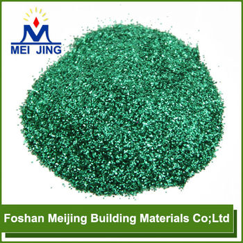 top grade many color glass mosaic glitter powder factory