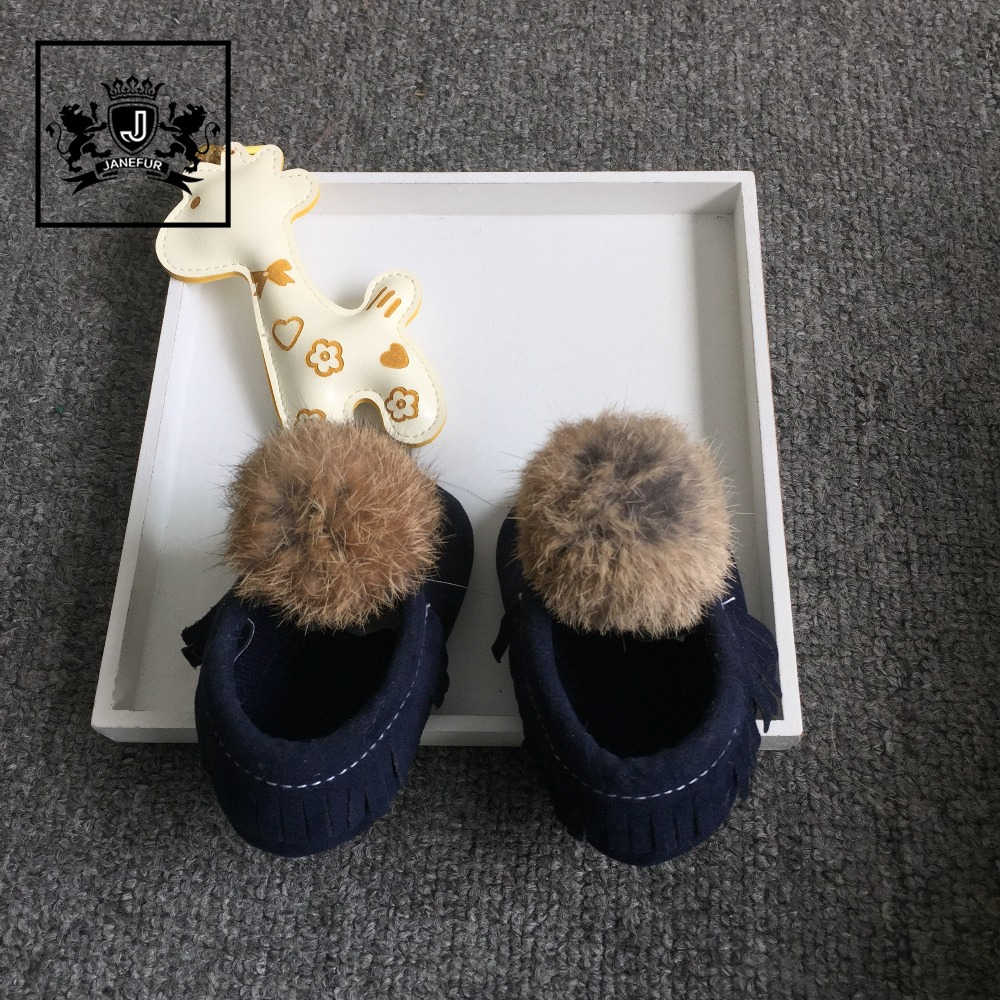 Wholesale soft sole suede leather casual new style baby shoes