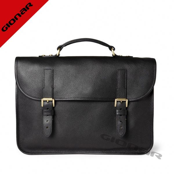 famous brand italian leather suit case bag men briefcase bag