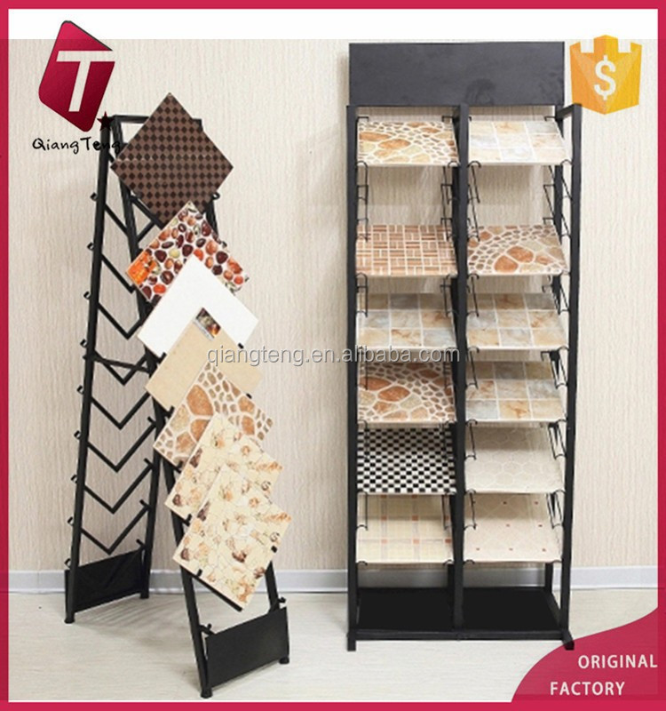 Strong ceramic tile display stand stone sample display rack