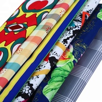 Cheap African Fabric 100% Chiffon Fabric Print In Vietnam Textile Factory