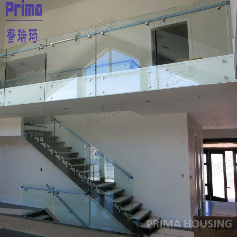 Outdoor Stainless Steel Cladding Glass Aluminum Railing