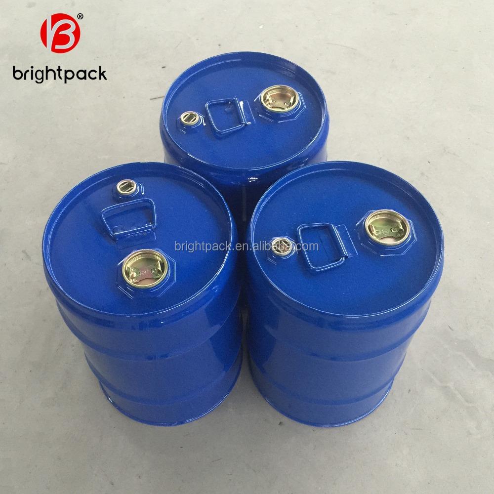 25 लीटर 50 लीटर 100 लीटर 200 लीटर ड्रम, स्टील सील बाल्टी में विभिन्न आकार