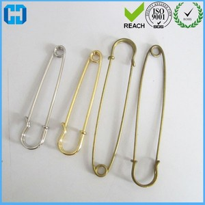 Heavy Duty Large Metal Safety Pins For Blankets/Skirts