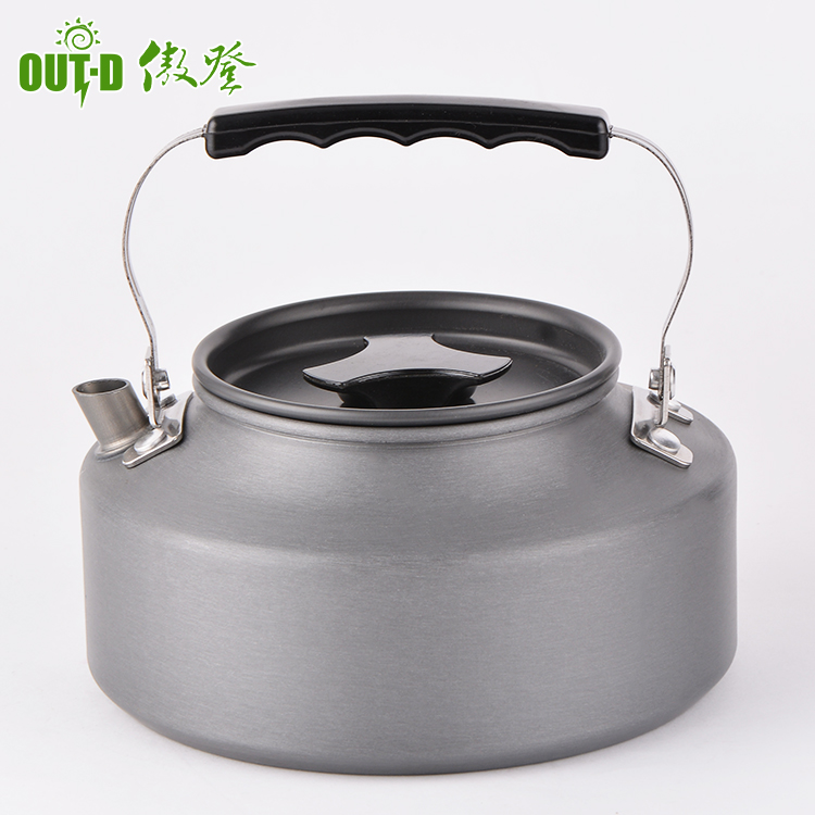CN/_ 0.8L Aluminum Alloy small size Water Kettle Teapot Pot Camping Home Packin