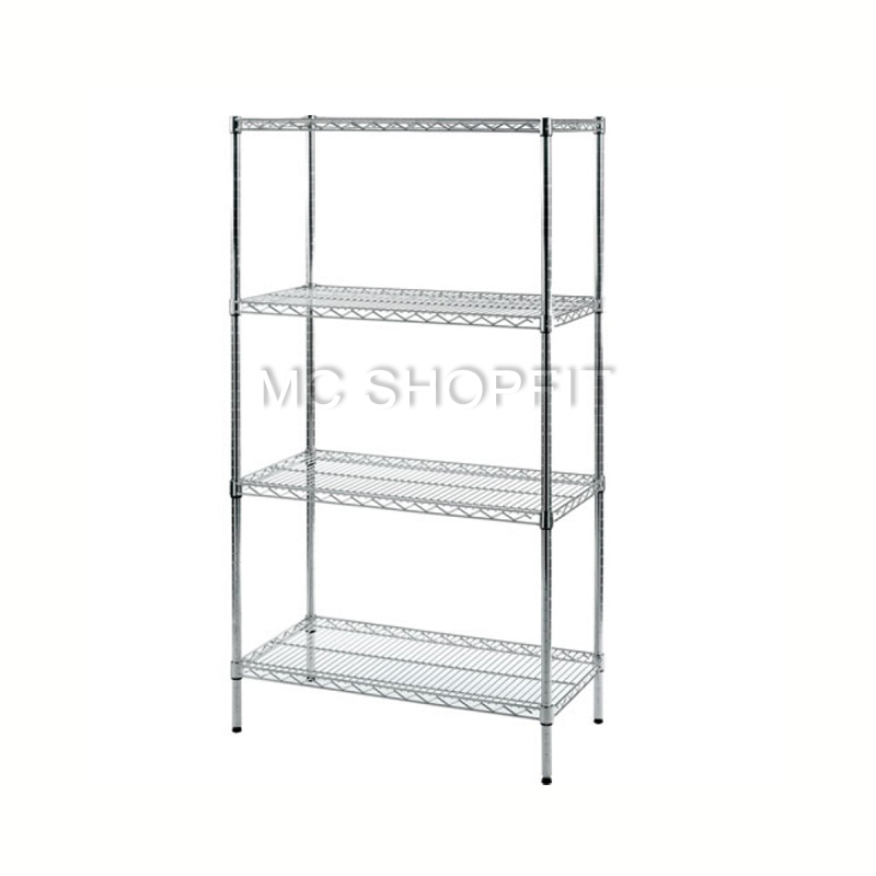 Factory Supply nsf black wire shelving approved <strong>steel</strong> grocery rack metal