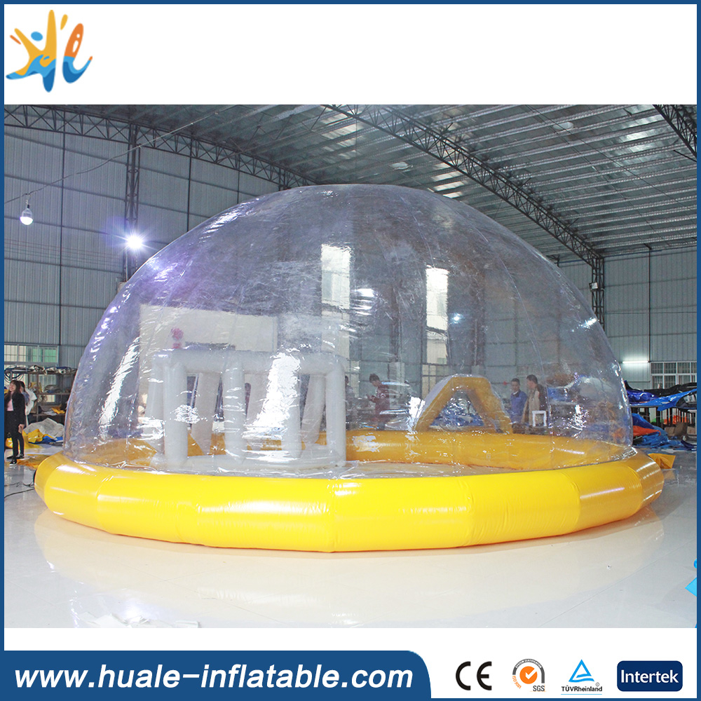 Huale new design inflatable crystal palace, inflatable bubble tent, inflatable combo with factory price