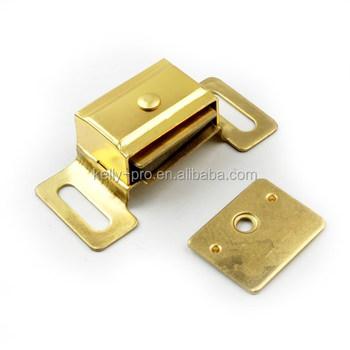 Magnetic Cabinet Cupboard Door Catches Aluminum Case Wardrobe Magnet Lock  Latch, Kitchen Cabinet Catch Closures