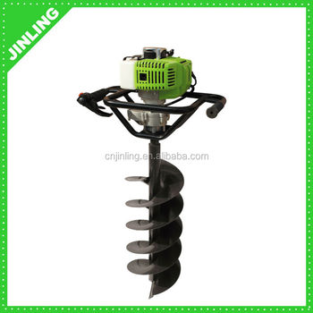 Gasoline Earth Auger Drill/Post Hole Auger Digger