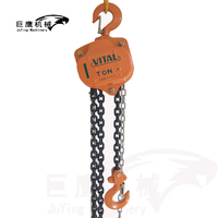 Supply 5ton vital chain block manual hoist with ce