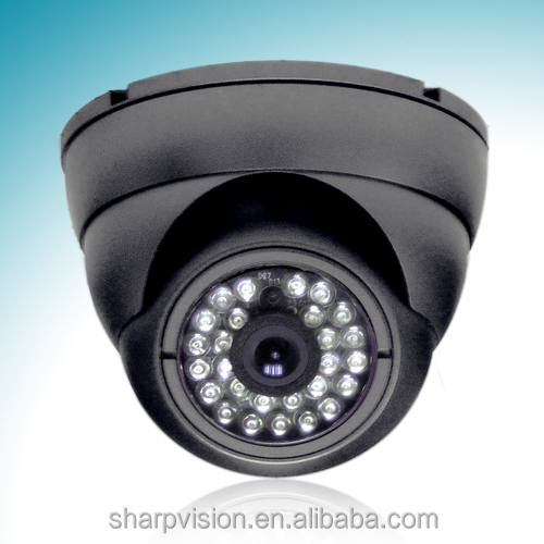 CCTV vandal proof IR dome camera,Color dome camera
