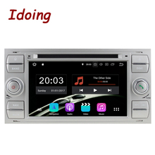 "Idoing 7 ""2Din Android 8.0 Car Radio <span class=keywords><strong>DVD</strong></span> Multimedia Player PX5 4G + 32G Eight Core untuk ford Focus2 Mondeo Max IPS Gps Navigasi"