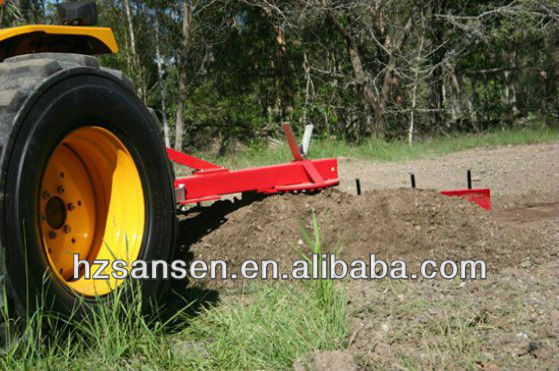 Tractor mounted 3 Point Grader Blade with Rippers 1.2m,1.5m,1.8m