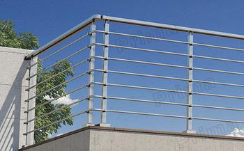 Balcone Esterno Griglia In Acciaio Inox Terrazza/terrazza Ringhiera ...