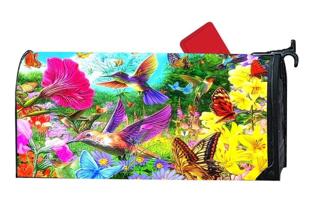DIY Decorative Mailbox Covers & Magnetic Mailwraps Vinyl Sunset Collection - Birds & Butterflies