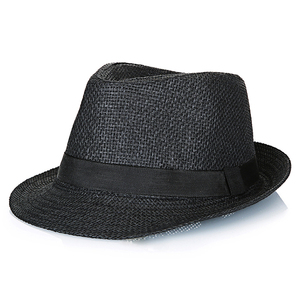 2019 OEM Custom wholesale panama mens paper large floppy wide brim summer sun beach hat straw
