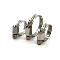 Germany Type England Type Stainless Steel Auto Tube Pipe Hose Clamp