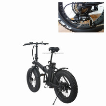 48V 500W Fashionable Sand Snow Fat Tire Electric Bike 2017
