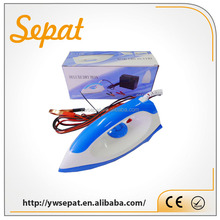 DC 12V solar electric irons for clothes