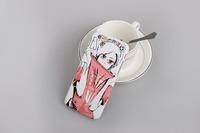 Matte custom creative cartoon cute Pc hard shell phone cases for iphone series