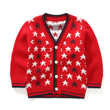 Ms61535c Korean Style Star Pattern Hand Knitted Wool Sweaters Of