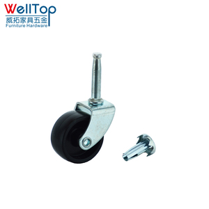 Plastic bed single caster wheel bed casters and wheels VT-04.023