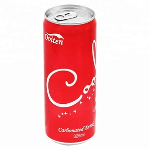 Wholesale Aluminium canned soft drinks distributor Cola Flavored carbonated  drinks