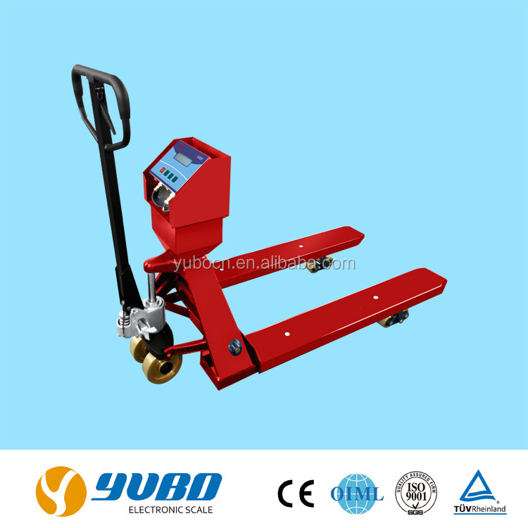 2 ton electric hand pallet truck scale