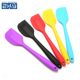 Food Grade Heat Resistant Non-Stick Cooking Utensils Silicone Baking Scraper Spatula