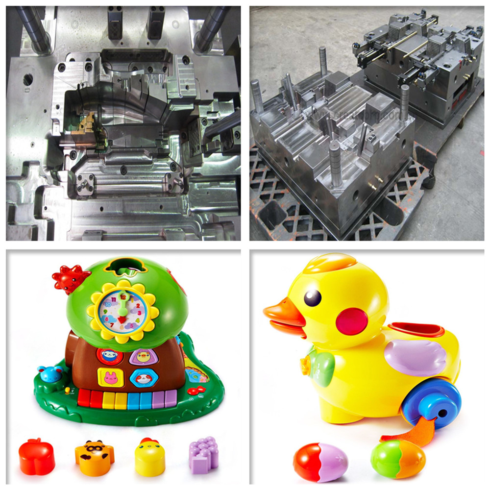 3D injection plastic mould design and building