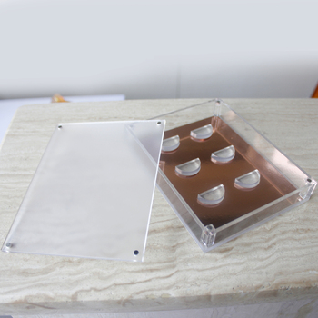 cf4f2bc0fdd wholesale plastic 3 pairs false acrylic eyelash organizer, eyelash  extension organizer, custom eyelash box