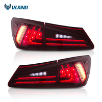 VLAND china manufacturer wholesales taillight full led is350/F rear lights 2006-2012 for LEXUS is250