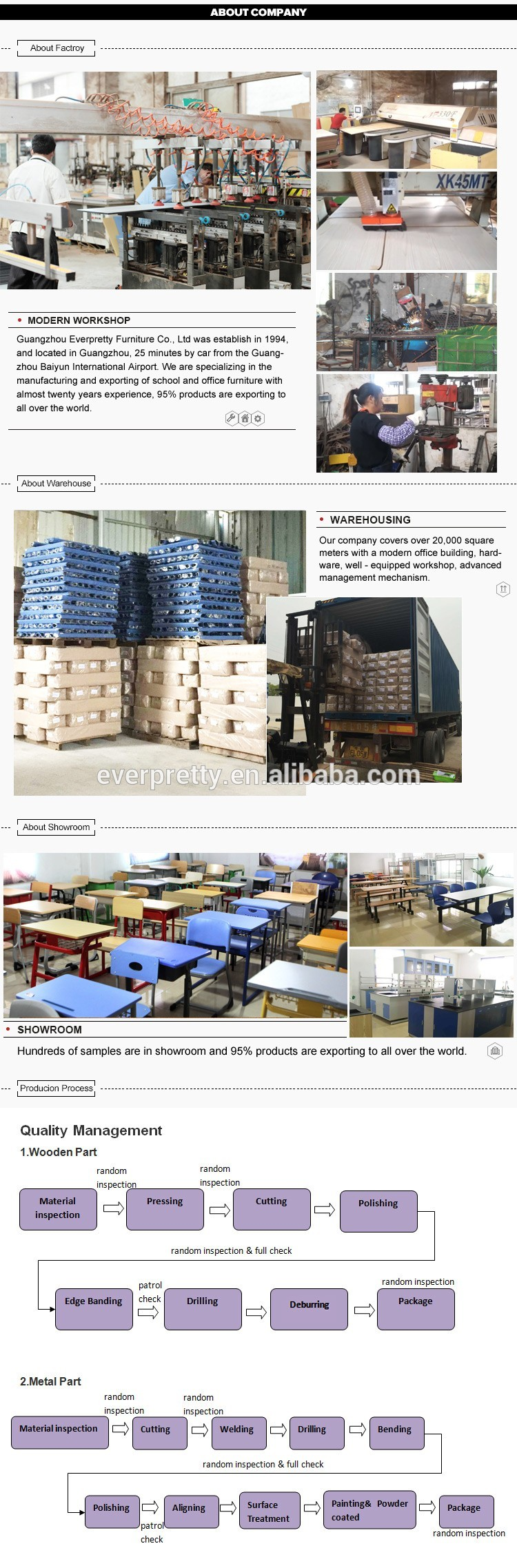 High Quality used school desks cheap study table and chair set used daycare furniture sale