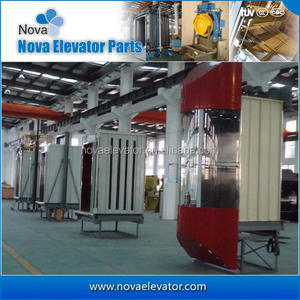 Mirror Stainless Steel Commercial Elevator Cabins , Customized Elevator Observation Cabins, Sightseeing Elevator Cabs