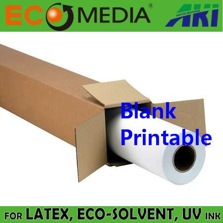 Environmental Friendly PVC Fabric Printing Wallpaper 30m Per Roll