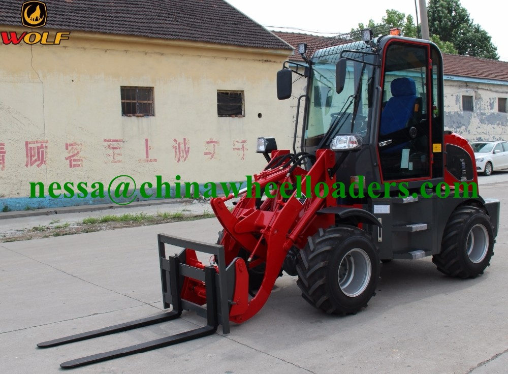 4 Wheel Drive Stand Up Forklift , Narrow Aisle Forklift