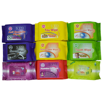 Clean and Shine Shoes Wet Wipes