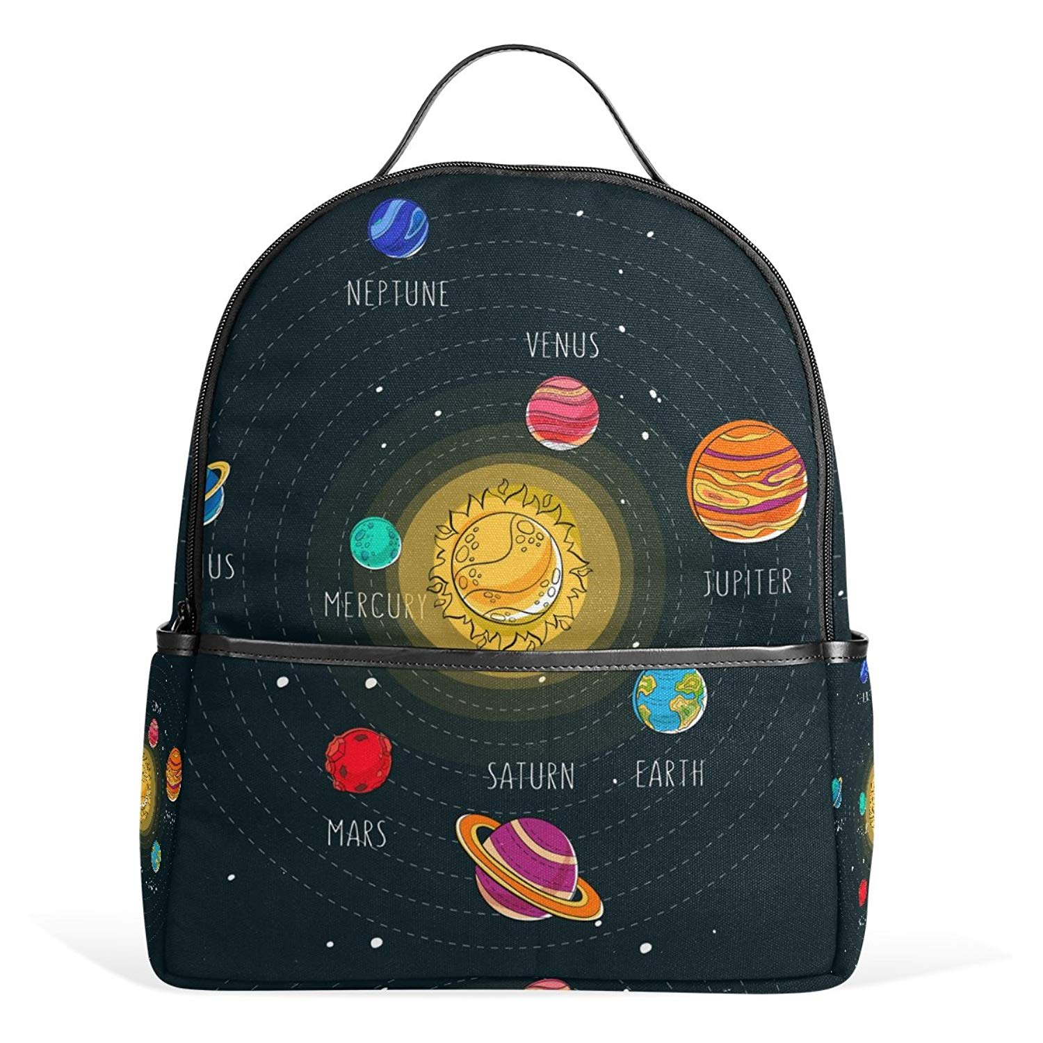 f12121043e38 JSTEL Solar System School Backpack 2th 3th 4th Grade for Boys Teen Girls  Kids
