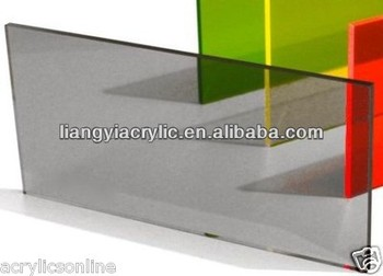 A3 Size Acrylic Cast 420 X 297 X 3mm Grey Tinted Sheet Windscreen ...
