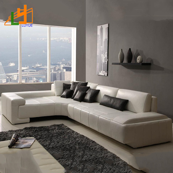 Alibaba Online Sale European Style L Shaped Couch Set Living Room ...
