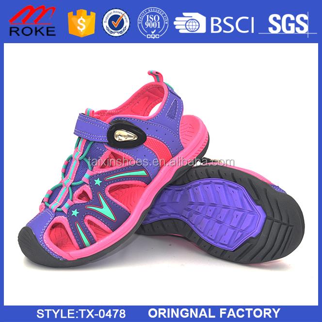 2017 New Casual Comfort PU/EVA Kids Sandals from Jinjiang factory