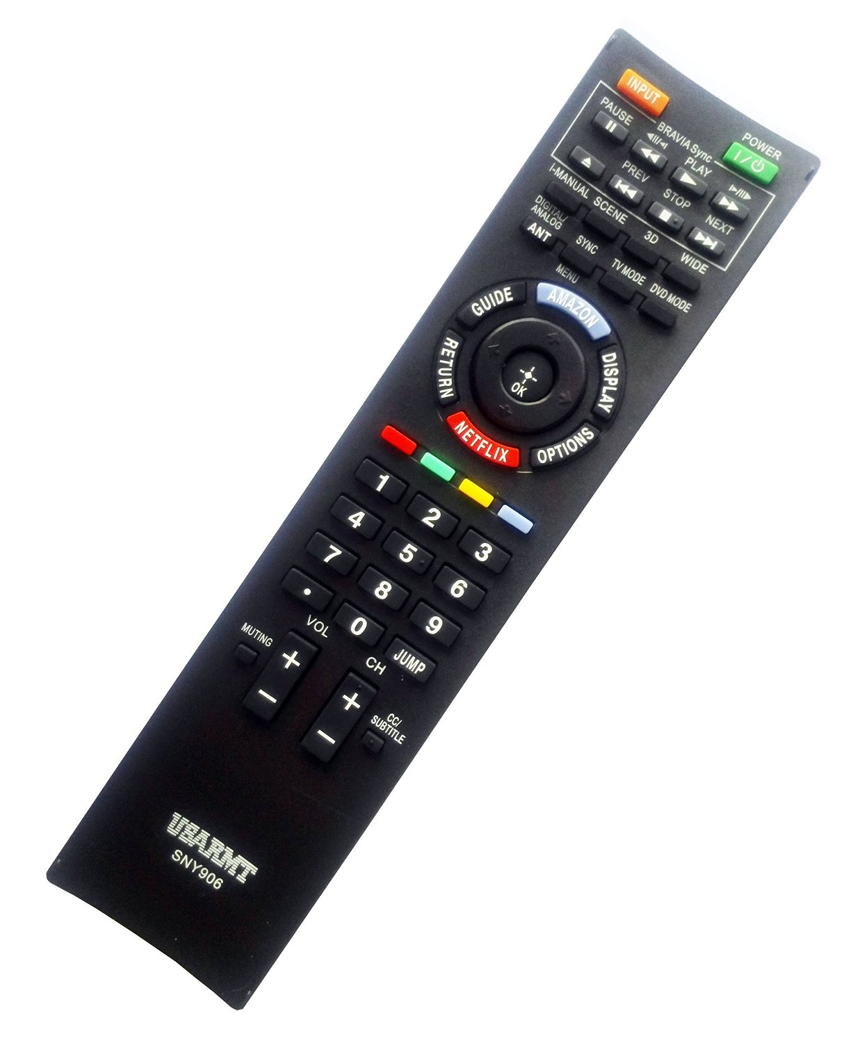 NEW Sony Universal TV&DVD Blu-ray Player Remote Fit for 99% Sony LCD LED TV & DVD Blu-ray Player, replace RM-YD040 RM-YD103 RM-YD094 RM-YD014 RM-YD005 RMT-B119A RMT-B107A. Easy to USE!