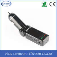 Factory Top Quality Car mp3 player Wireless Bluetooth Car kit bluetooth audio mp3 usb player with fm transmitter