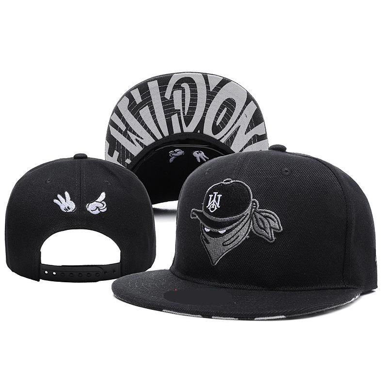 353b7f36a798d Moda SnapBack negro gorras de béisbol sombreros de verano para Mujeres  Hombres deportes gorras planas hip